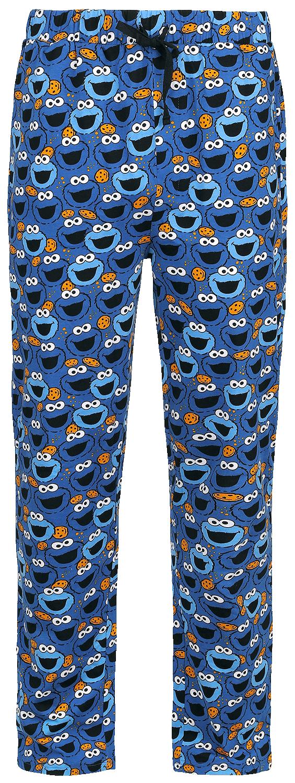 Sesamstraße - Cookie Monster - Pyjama-Hose - blau - EMP Exklusiv!
