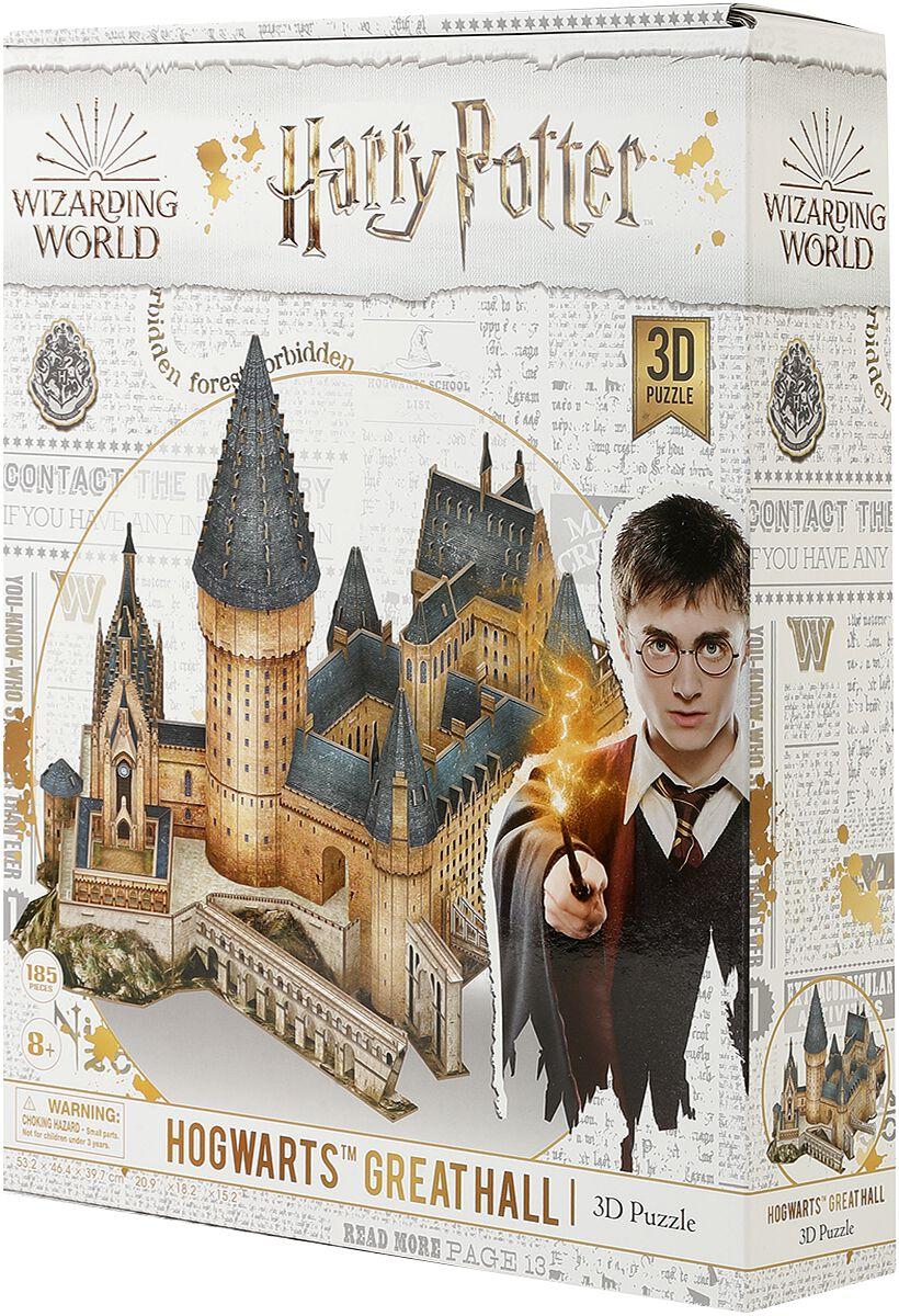 Harry Potter Hogwarts - Great Hall (3D Puzzle) Puzzle multicolor CF10113