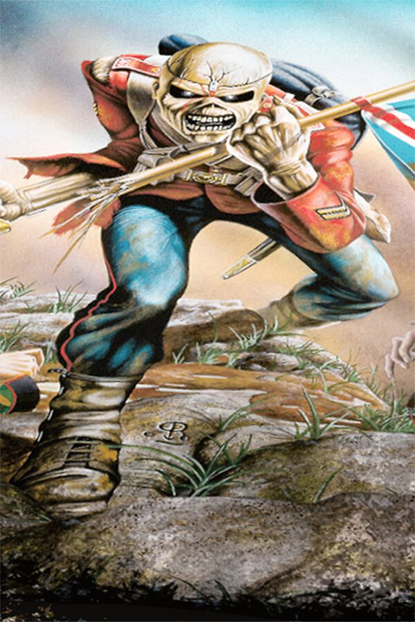 The Trooper Iron Maiden Bettwäsche Emp