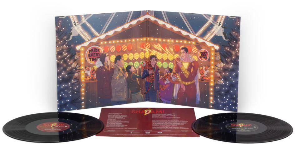 Shazam Shazam! - Original Motion Picture Soundtrack LP schwarz MOND212