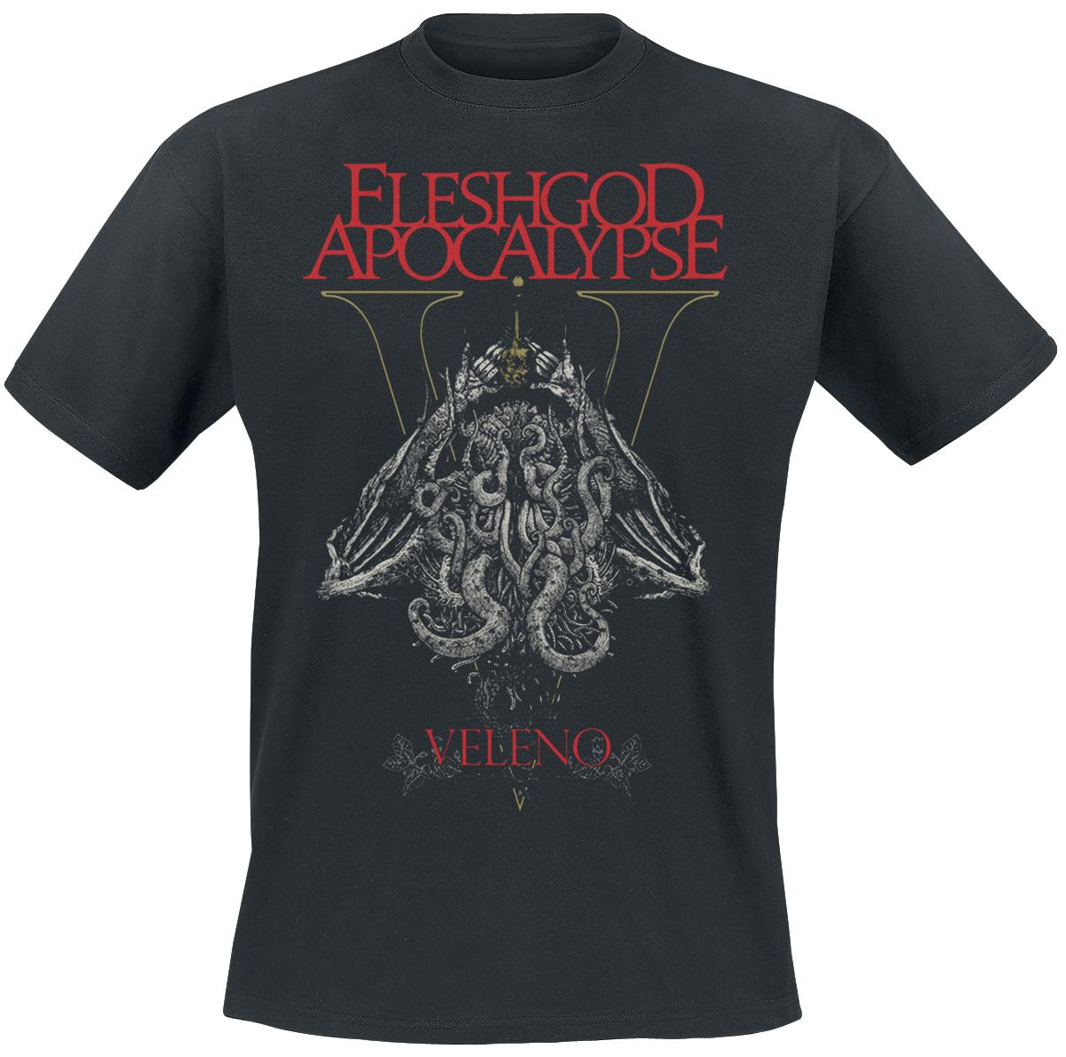 Image of Fleshgod Apocalypse Veleno CD & Blu-ray & T-Shirt Standard