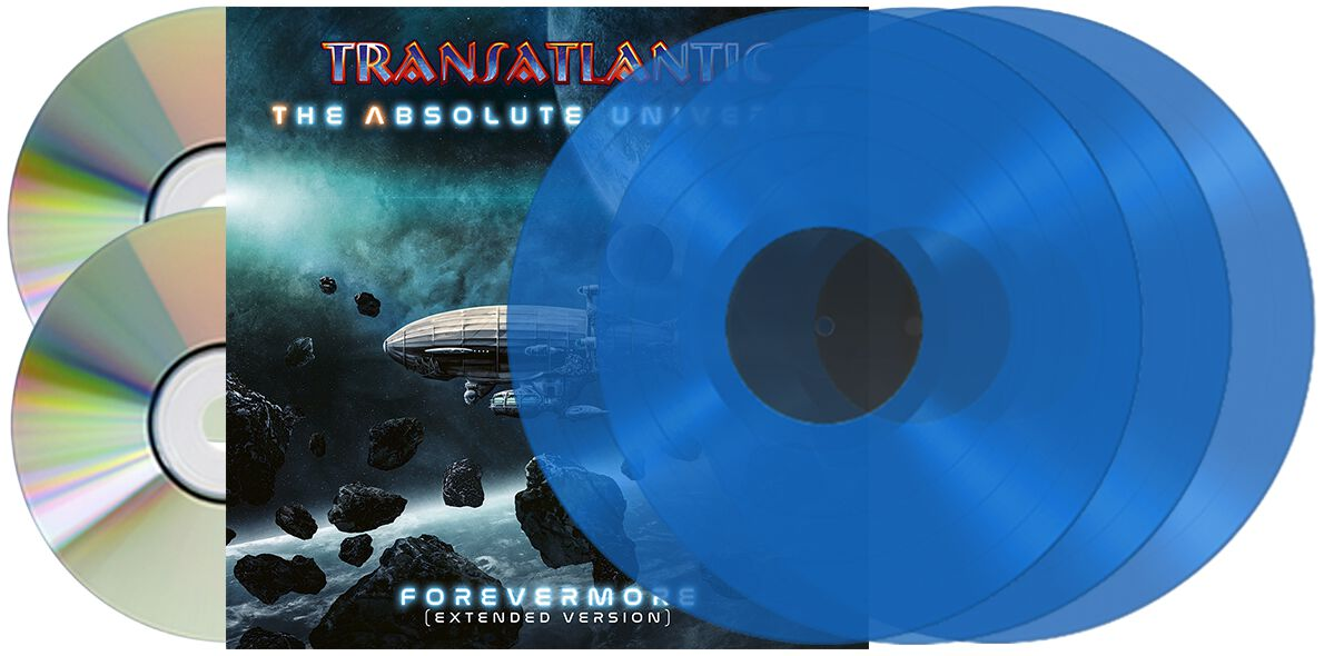 Image of TransAtlantic The absolute universe - Forevermore 3-LP & 2-CD Standard