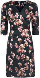 Metallic Magnolia Wiggle Dress