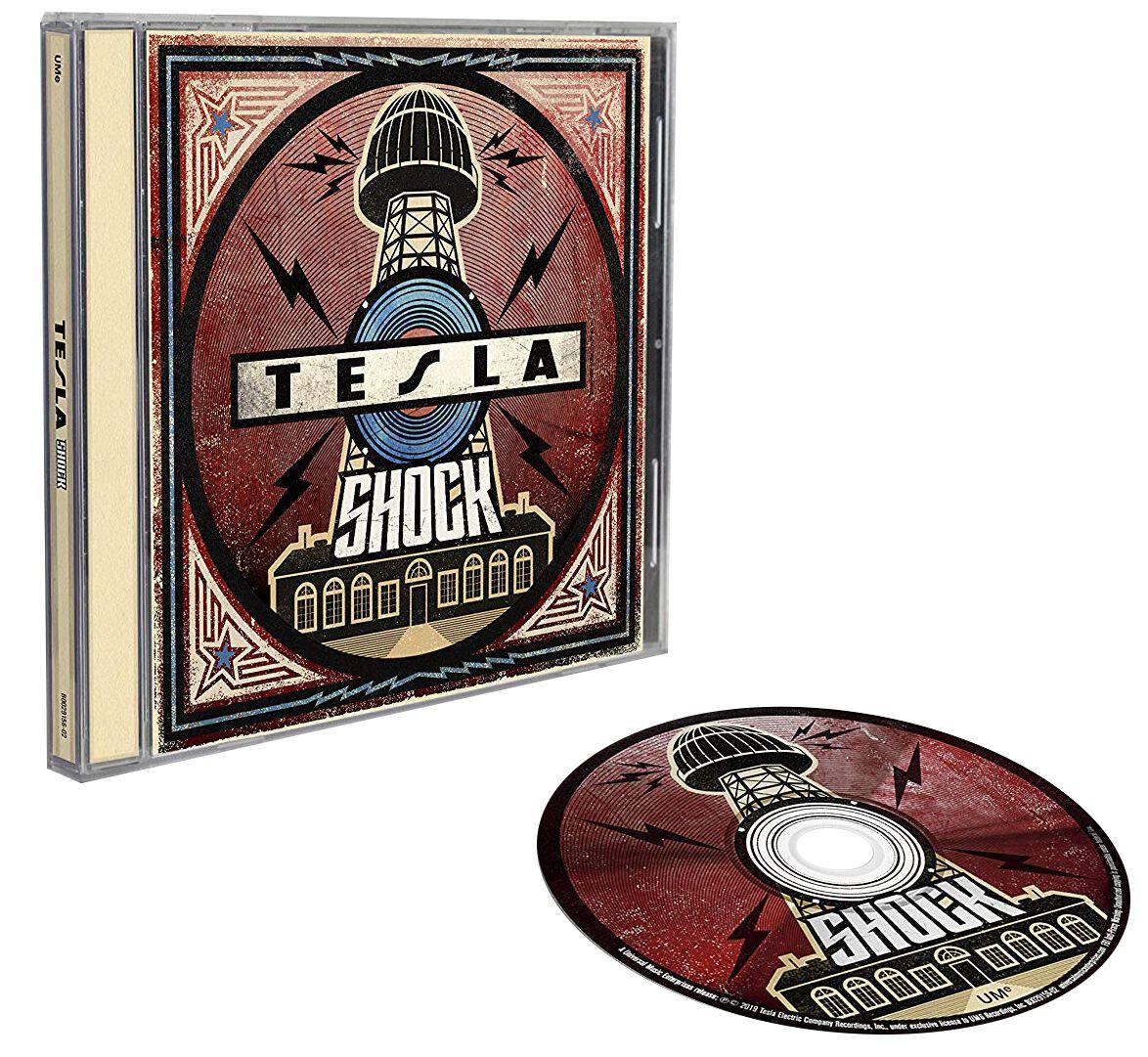 Tesla Shock CD multicolor 7701937