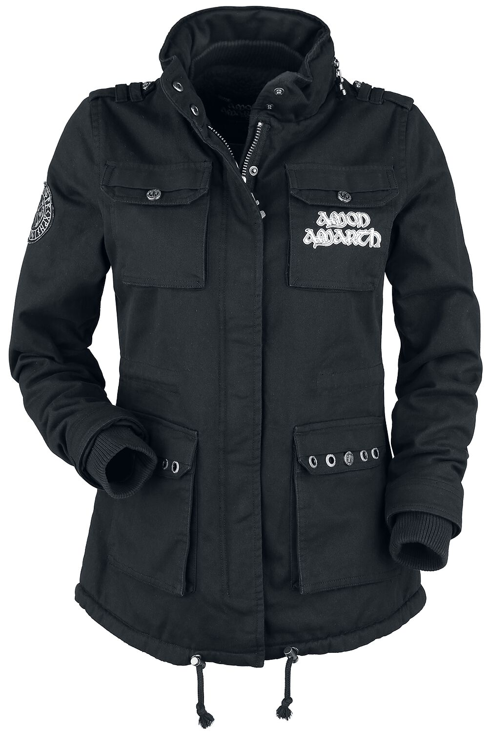 Jacken - Amon Amarth EMP Signature Collection Winterjacke schwarz  - Onlineshop EMP