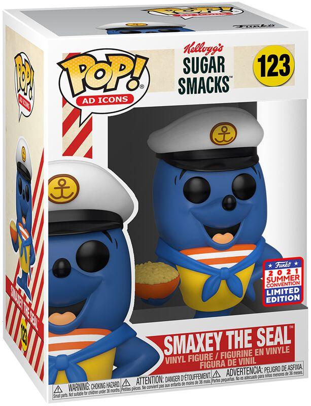 Ad Icons - SDCC 2021 - Kellog´s Sugar Smacks - Smaxey The Seal (Funko Shop Europe) Vinyl Figur 123
