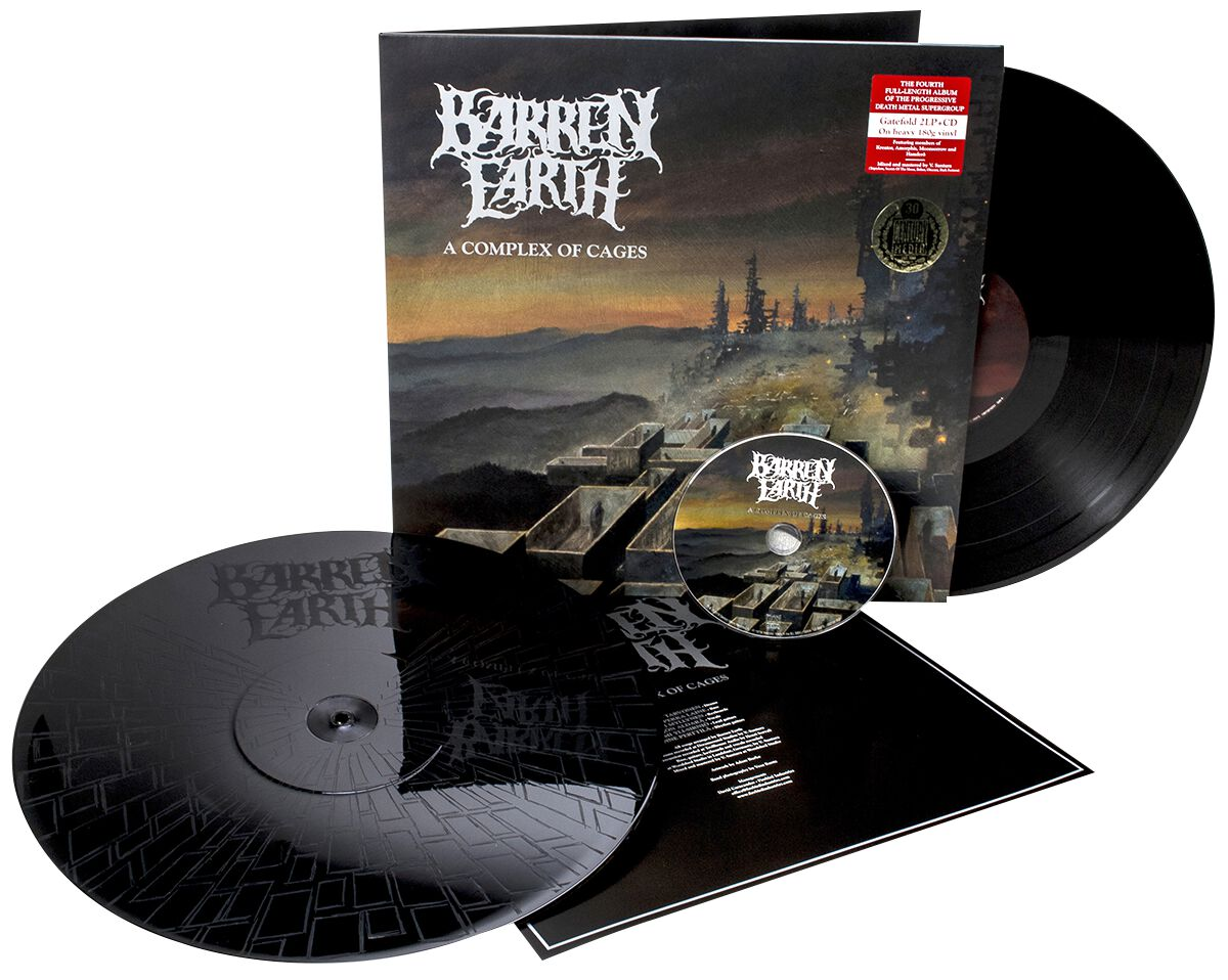 Image of Barren Earth A complex of cages 2-LP & CD Standard
