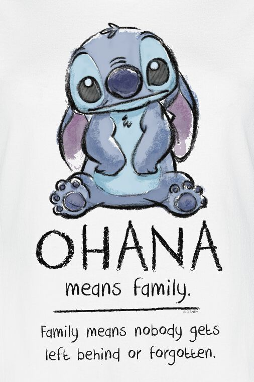 9ef95ebd6 Ohana Means Family. T-Shirt. 35 Bewertungen. Alles zu Lilo and Stitch