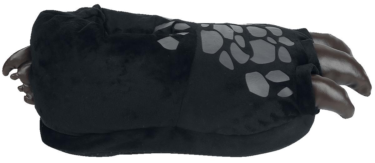 Image of Drachenzähmen leicht gemacht Ohnezahn - Drachenfüße Hausschuhe schwarz
