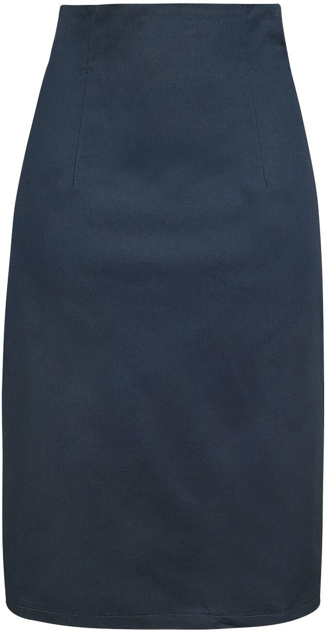 Roecke für Frauen - Dolly and Dotty Falda Pencil Skirt Rock navy  - Onlineshop EMP