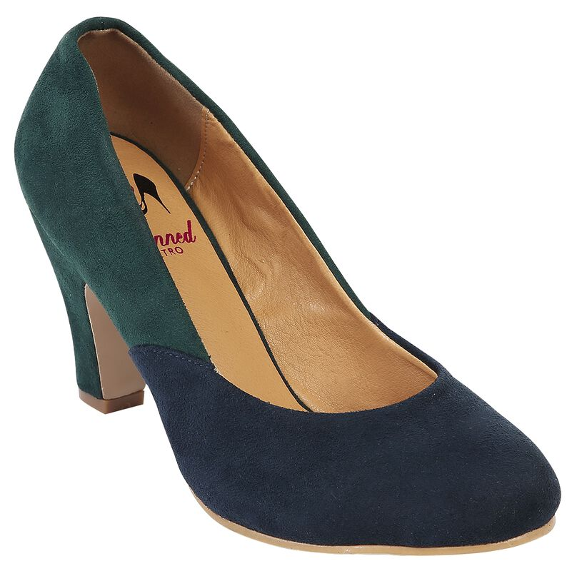 The Modernist Two Tone Pump