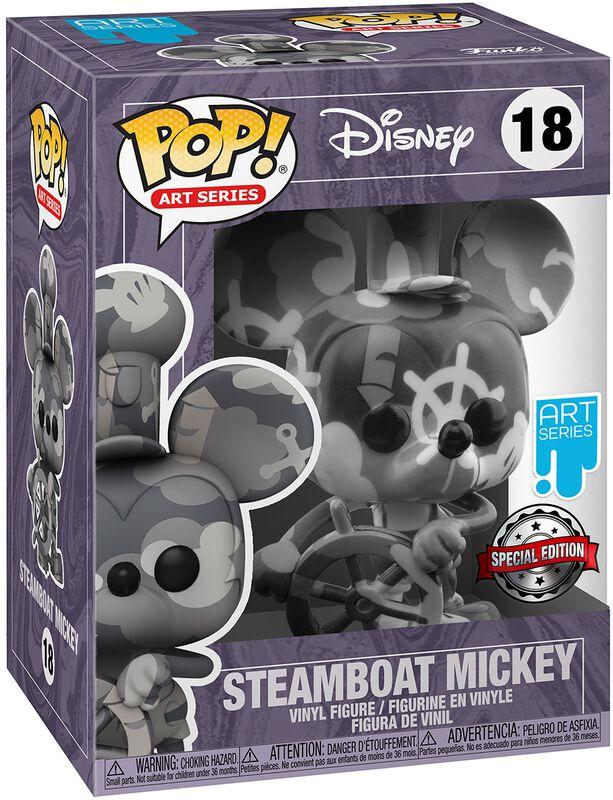 Steamboat Mickey (Art Series) Vinyl Figur with Case 18