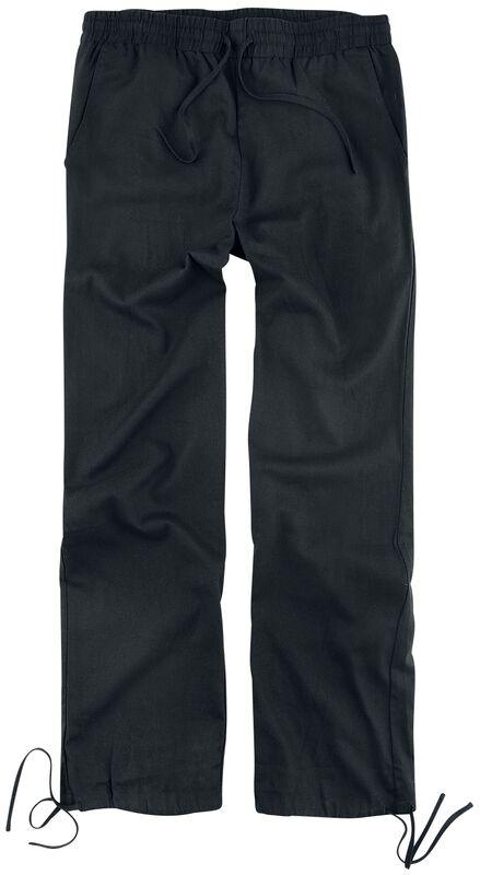 Schwarze Hose aus angenehm leichten Material