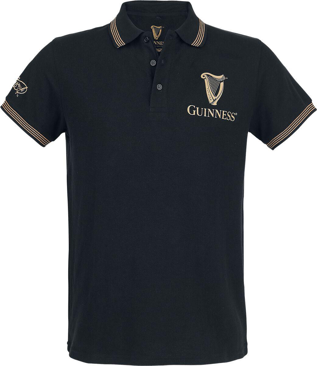 Guinness Guiness Taste Poloshirt schwarz M292763