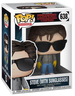 Steve (With Sunglasses) Vinyl Figur 638