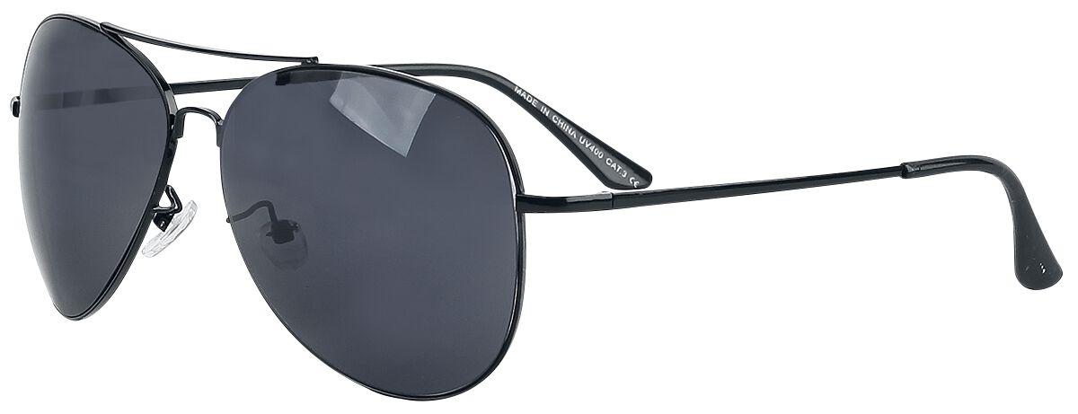 Sonnenbrillen - Pilotenbrille Sonnenbrille schwarz  - Onlineshop EMP