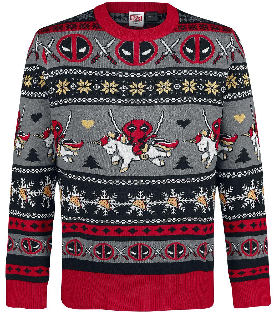 Unicorn - Taco - Christmas Sweater   Deadpool Weihnachtspullover   EMP