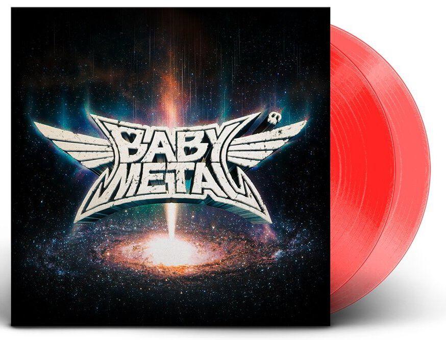 Image of Babymetal Metal galaxy 2-LP rot