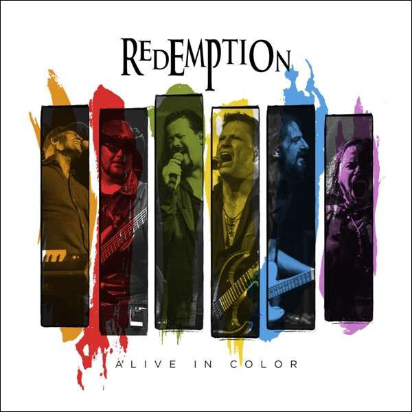 Image of Redemption Alive in color 2-CD & Blu-ray Standard