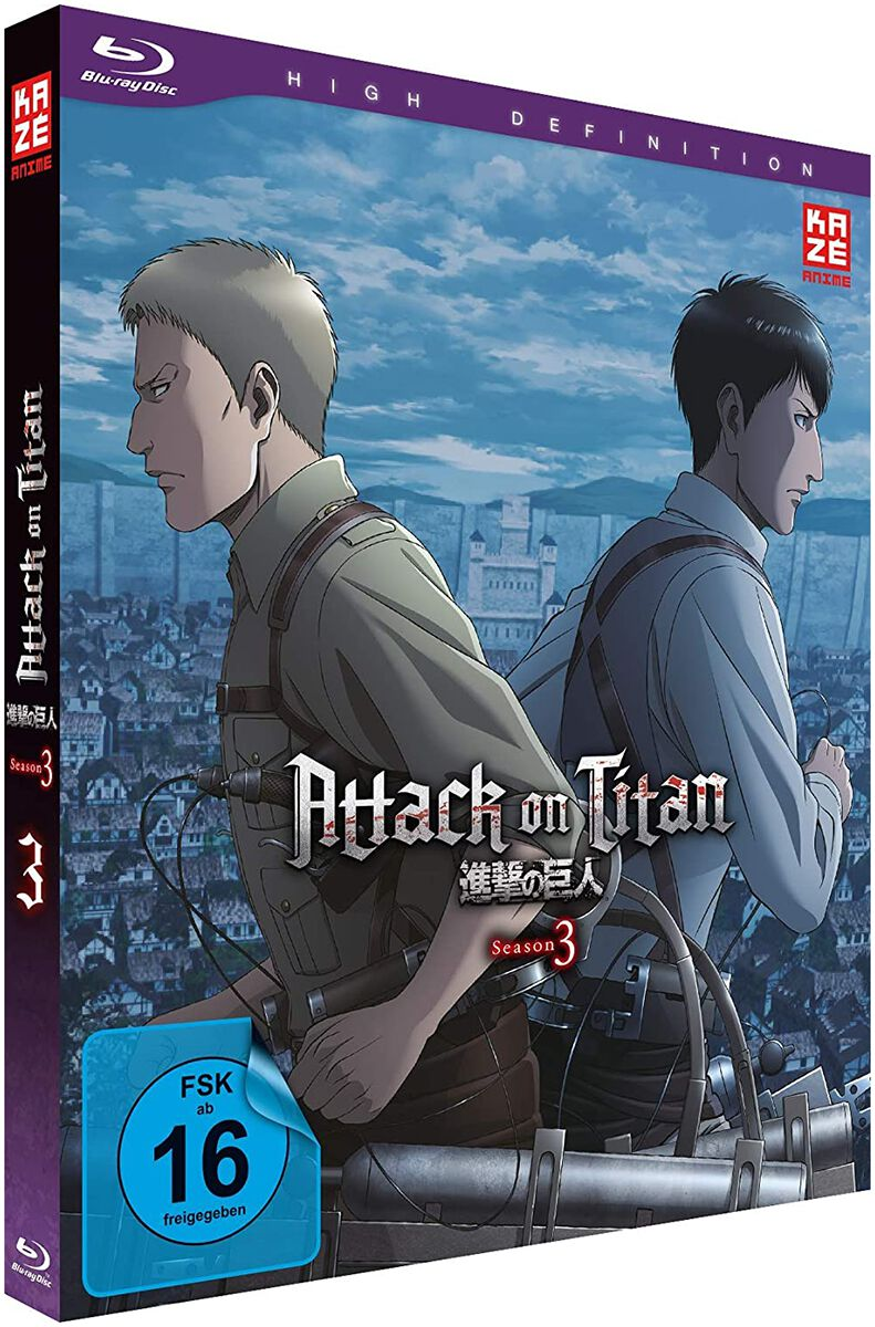 Image of Attack On Titan Staffel 3 - Vol.3 Blu-ray Standard