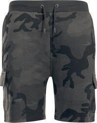 Camo Cargo Terry Shorts