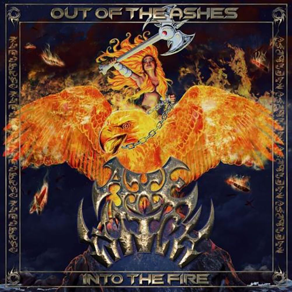 Image of Axewitch Out of the ashes into the fire CD Standard