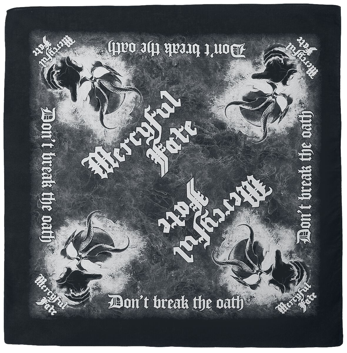 Image of Mercyful Fate Don't Break The Oath - Bandana Bandana multicolor