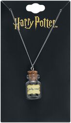 Herbology Gilly Weed Bottle Necklace