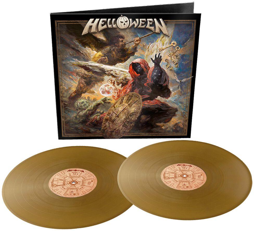 Helloween Helloween LP goldfarben NBT 5878-1