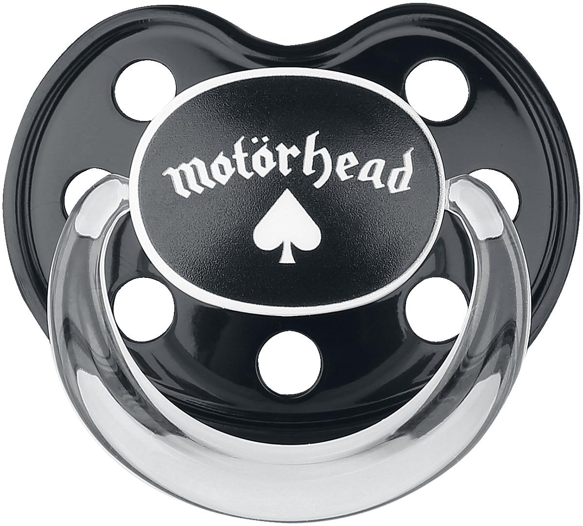 Motörhead - Motörhead Logo - Schnuller - schwarz