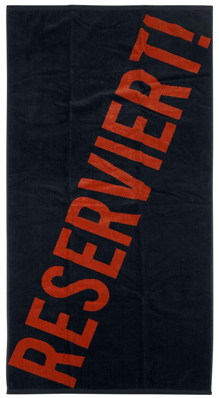 Reserviert!   Handtuch  Standard