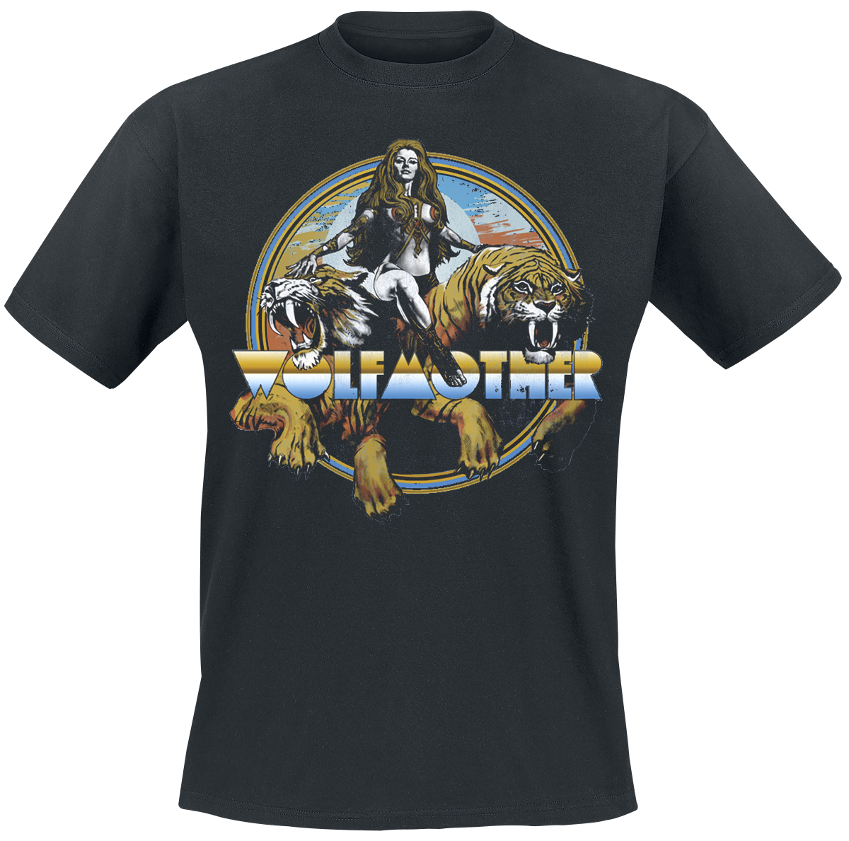 Wolfmother - WOT - T-Shirt - black image