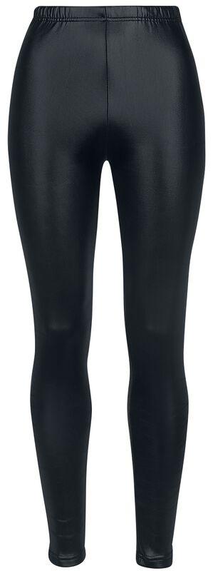 Gefütterte Wetlook-Leggings