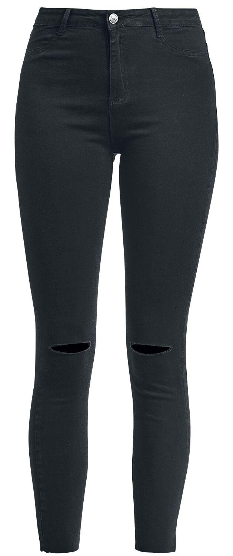 Hosen für Frauen - Hailys Celia Jeans schwarz  - Onlineshop EMP