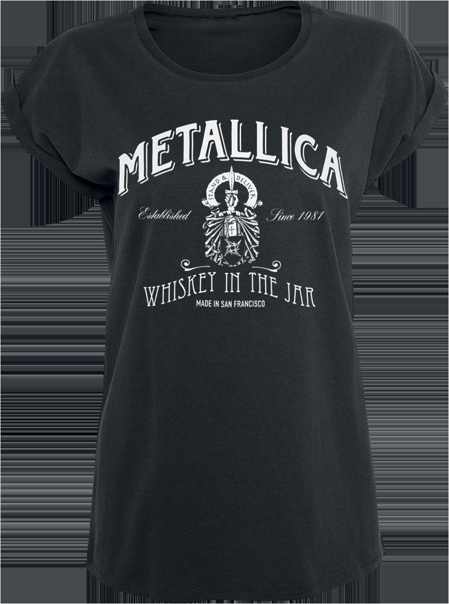 Metallica - Whiskey In the Jar - Girls shirt - black image