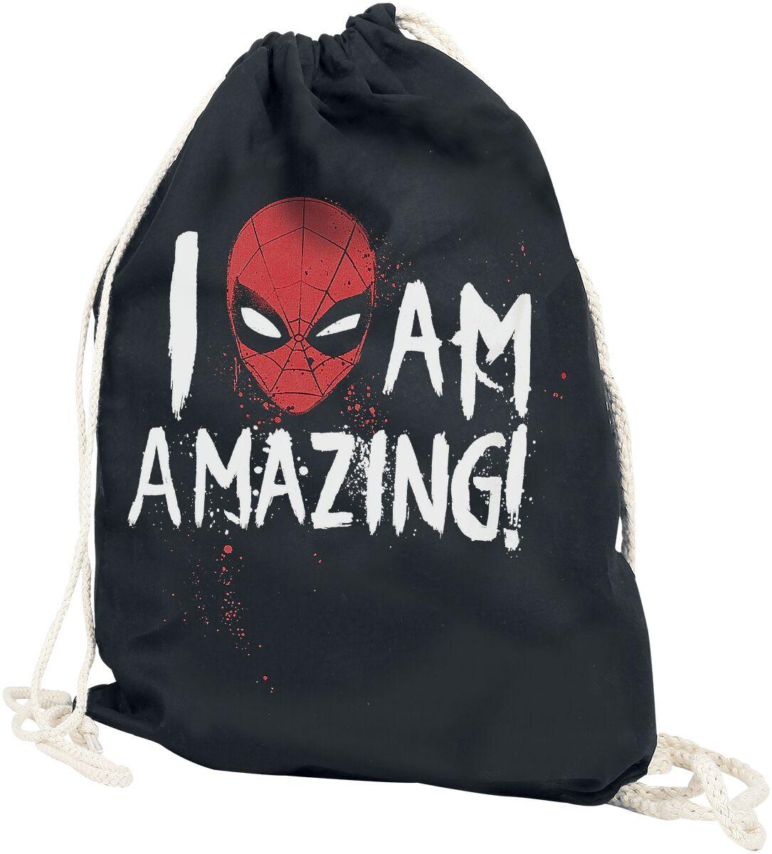 Sporttaschen - Spider Man I Am Amazing Turnbeutel multicolor  - Onlineshop EMP