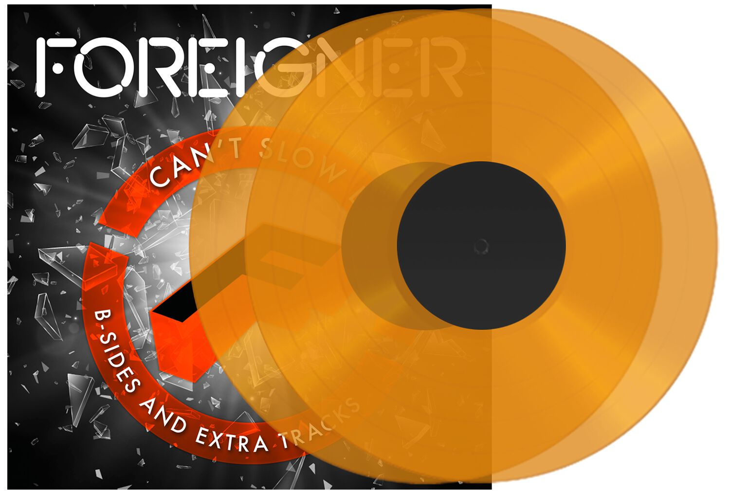 Music, Games & Video Foreigner Can't slow down & B-Sides & Extra Tracks 2-LP orange