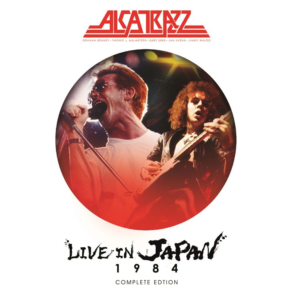 Image of Alcatrazz Live in Japan 1984 Blu-ray & 2-CD Standard