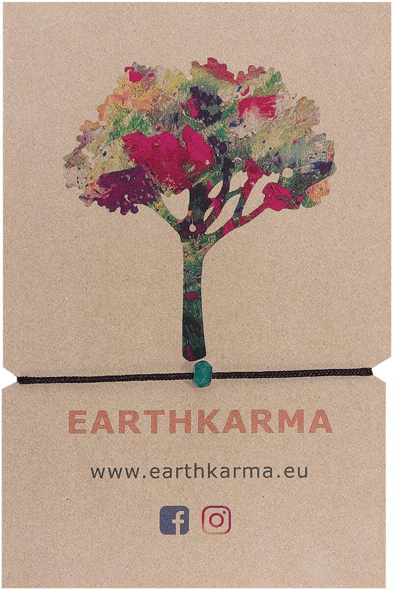 Image of Earthkarma Mini Armband grün