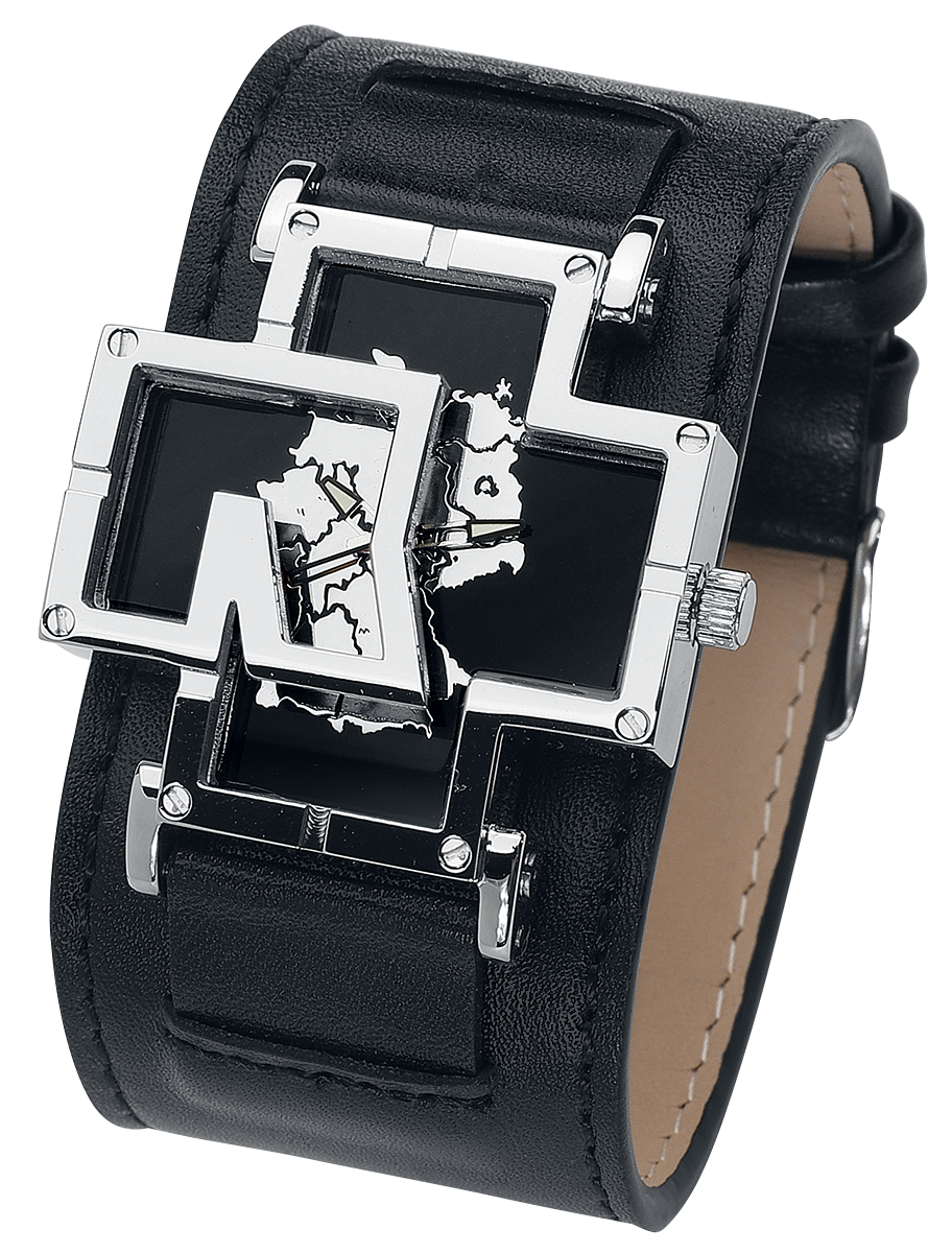 Rammstein - Germany - Armbanduhren - schwarz  silberfarben