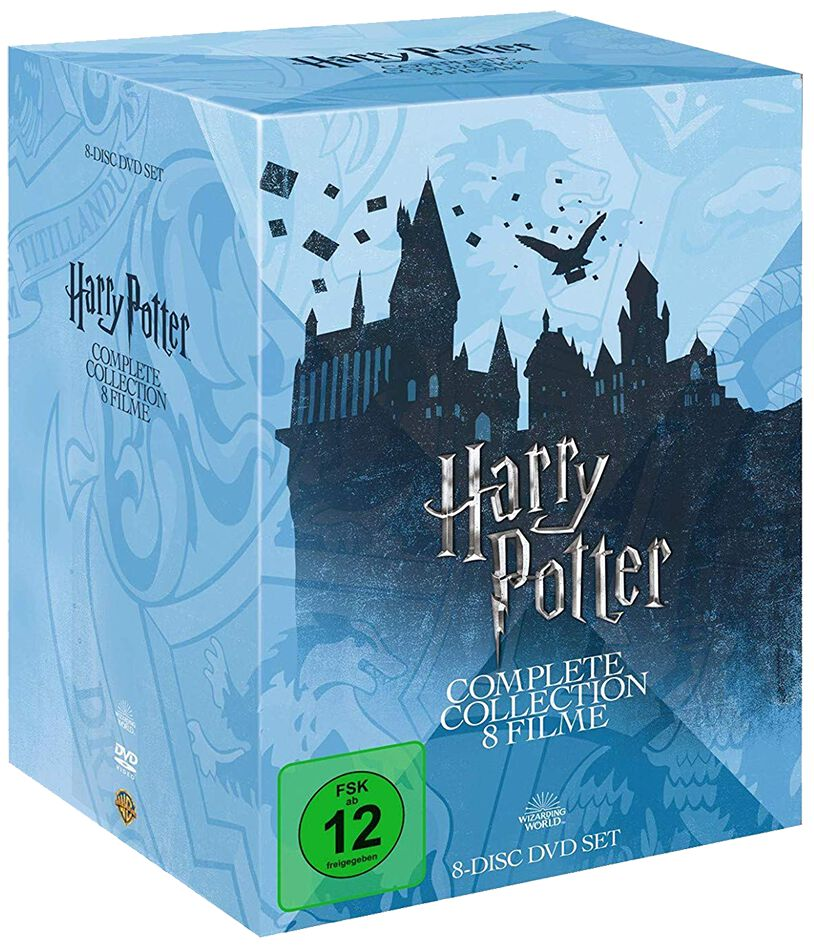 Image of Harry Potter Collection 8-DVD Standard