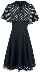 Swing-Kleid mit Cape