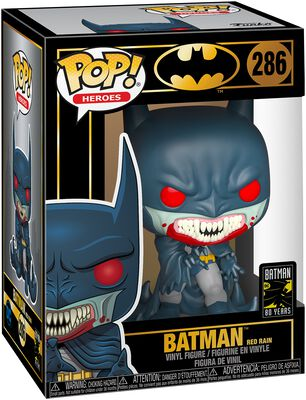 80th - Batman Red Rain Vinyl Figure 286