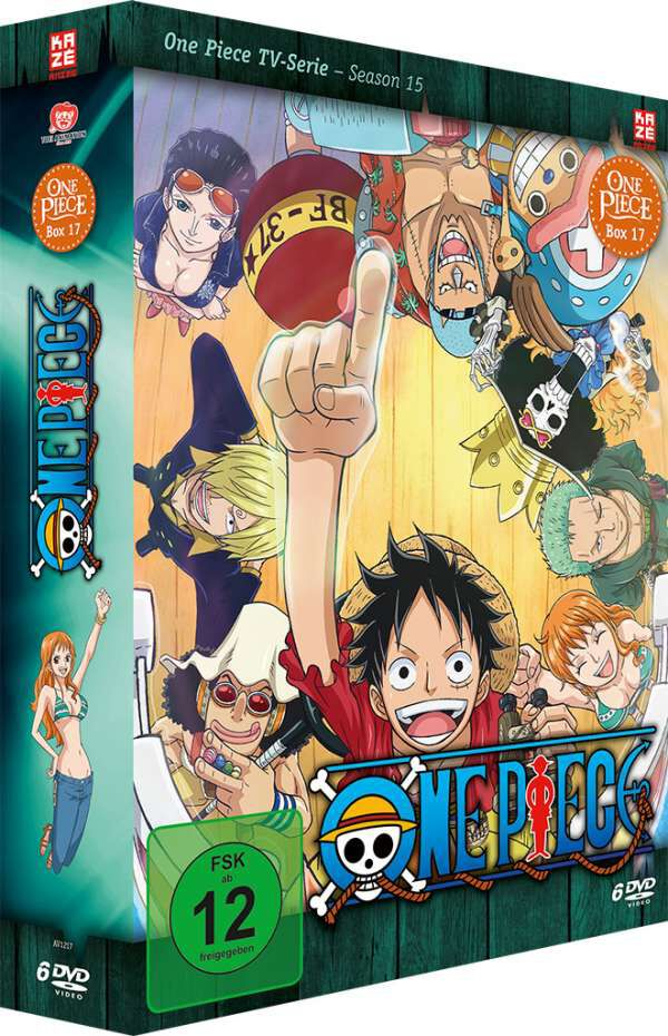 Image of One Piece Die TV-Serie - Box 17 6-DVD Standard