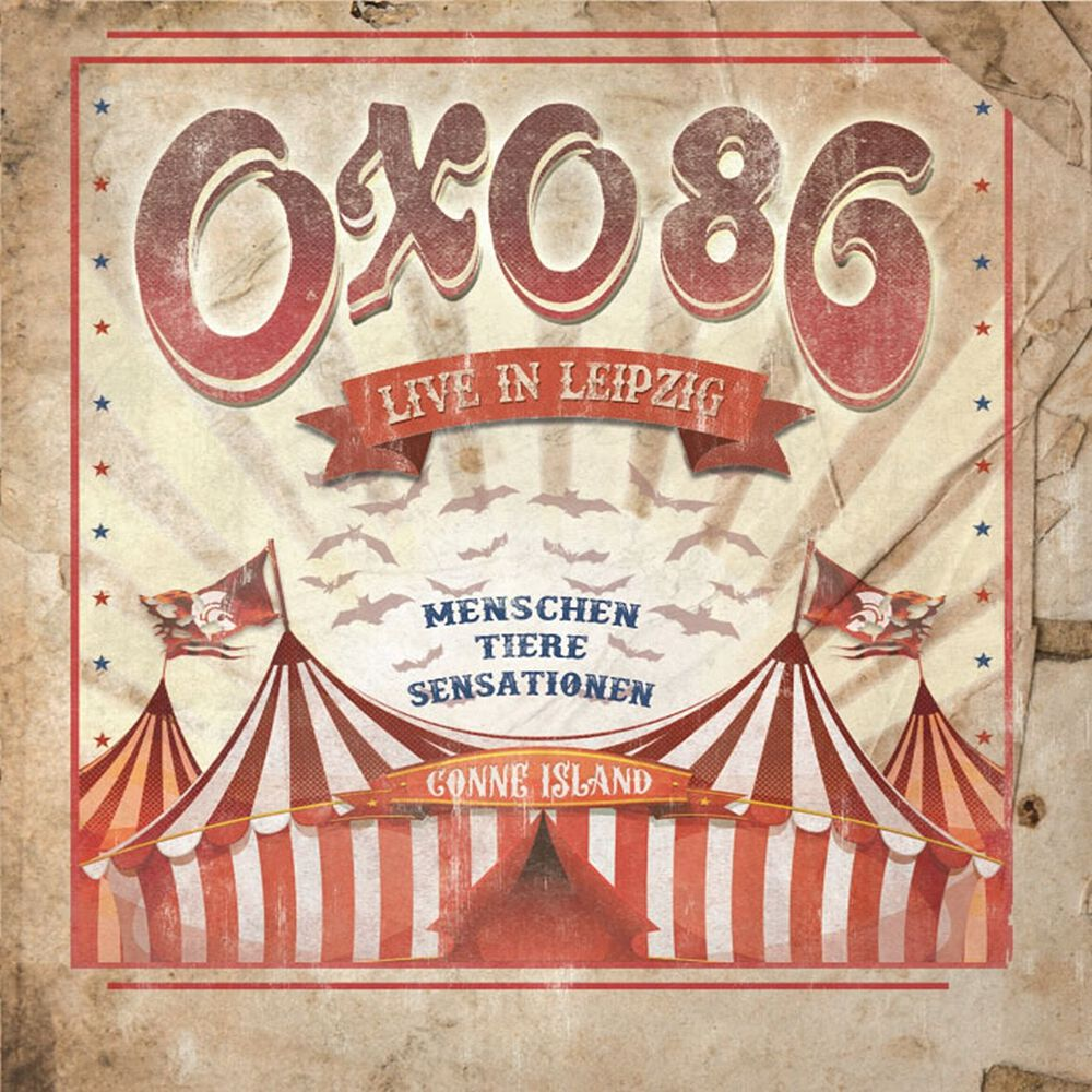 Image of Oxo 86 Live in Leipzig 2-LP & DVD farbig