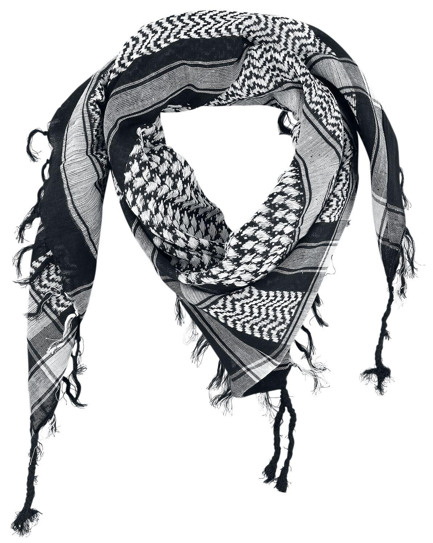 Image of Foulard Sciarpa/Foulard nero/bianco