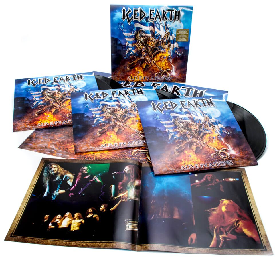Image of Iced Earth Alive in Athens (20th Anniversary Edition) 5-LP Standard