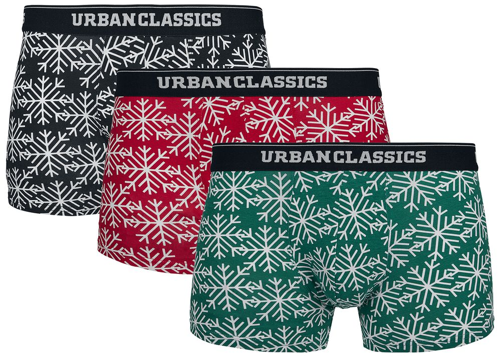 Christmas Norwegian Boxer 3er Pack