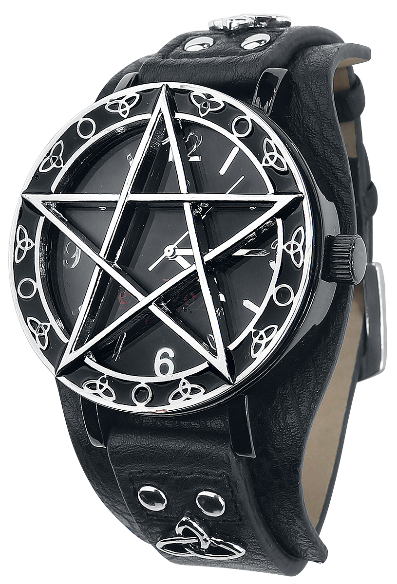 etNox Time - Pentagramm - Armbanduhren - multicolor