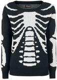 Skeleton Knitted Pullover